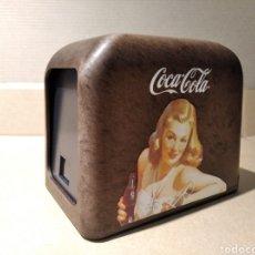 Coleccionismo de Coca-Cola y Pepsi: SERVILLETERO VINTAGE COCA-COLA. Lote 200879388