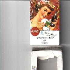 Coleccionismo de Coca-Cola y Pepsi: 10 BARAJAS DE COCA COLA. Lote 202409895