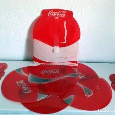 Coleccionismo de Coca-Cola y Pepsi: TAPETE Y POSA VASOS DE COCACOLA COCA COLA. Lote 203231422