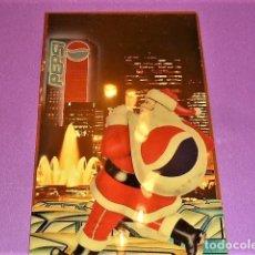 Coleccionismo de Coca-Cola y Pepsi: TARJETA O POSTAL NAVIDAD, PAPA NOEL. PEPSI. Lote 203906710