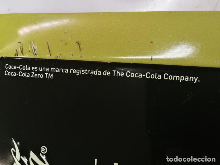Coleccionismo de Coca-Cola y Pepsi: CHAPA PUBLICITARIA COCA - COLA ZERO BACARDI. PIZARRA. ORIGINAL - Foto 5 - 204701030