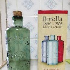 Collectionnisme de Coca-Cola et Pepsi: REPRODUCCIÓN BOTELLA COCACOLA 1899-1902 - NUEVA. Lote 205109930