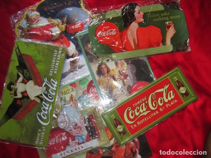 COCA COLA. CHAPAS LITOGRAFIADAS DE PUBLICIDAD. OCHO. (Coleccionismo - Botellas y Bebidas - Coca-Cola y Pepsi)