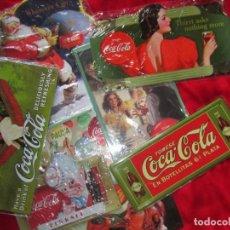 Coleccionismo de Coca-Cola y Pepsi: COCA COLA. CHAPAS LITOGRAFIADAS DE PUBLICIDAD. OCHO.. Lote 205713021