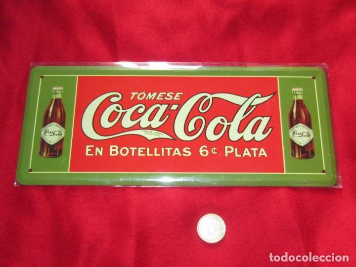 Coleccionismo de Coca-Cola y Pepsi: Coca Cola. Chapas litografiadas de publicidad. Ocho. - Foto 3 - 205713021