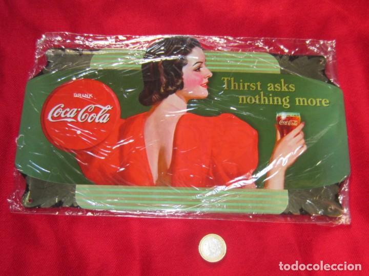 Coleccionismo de Coca-Cola y Pepsi: Coca Cola. Chapas litografiadas de publicidad. Ocho. - Foto 4 - 205713021