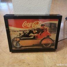 Collezionismo di Coca-Cola e Pepsi: CARTEL LUMINOSO COCA COLA FUNCIONA. Lote 205830315
