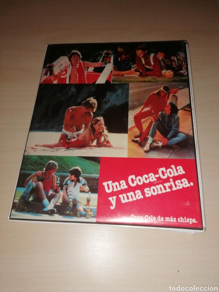 Coleccionismo de Coca-Cola y Pepsi: Antigua carpeta de anillas PORTABLOCK COCA COLA - Foto 2 - 206131323
