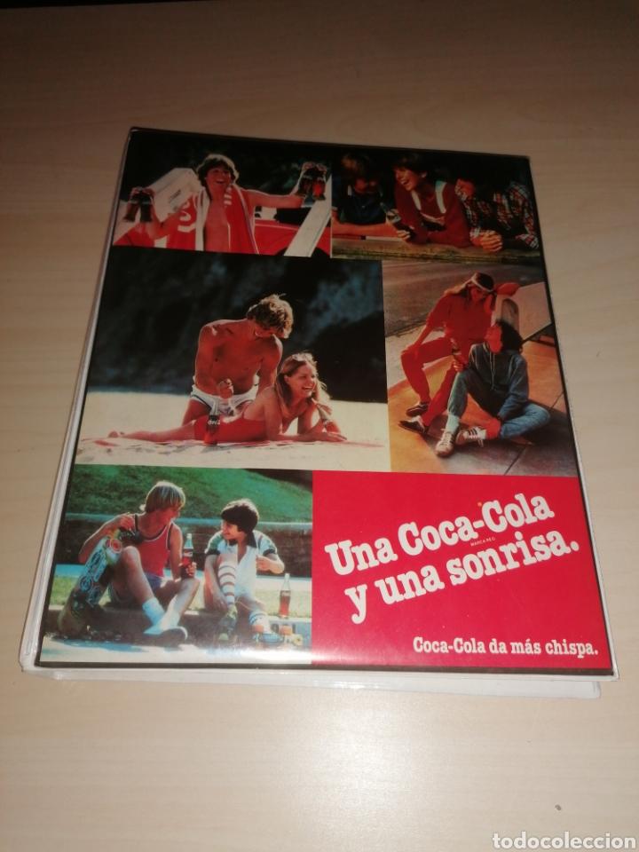 ANTIGUA CARPETA DE ANILLAS PORTABLOCK COCA COLA (Coleccionismo - Botellas y Bebidas - Coca-Cola y Pepsi)