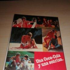 Coleccionismo de Coca-Cola y Pepsi: ANTIGUA CARPETA DE ANILLAS PORTABLOCK COCA COLA. Lote 206131323