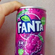 Coleccionismo de Coca-Cola y Pepsi: MINI LATA FANTA SABOR UVA JAPÓN. NUEVA. COCA COLA COMPANY. SIN ABRIR.. Lote 206537251