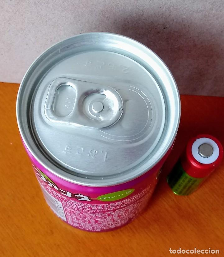 Coleccionismo de Coca-Cola y Pepsi: Mini lata FANTA SABOR UVA JAPÓN. NUEVA. COCA COLA COMPANY. SIN ABRIR. - Foto 3 - 206537251