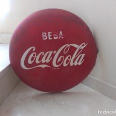 Coleccionismo de Coca-Cola y Pepsi: ANTIGUA Y AUTENTICA PLACA COCA COLA FONTCUBERTA 65. Lote 207853875