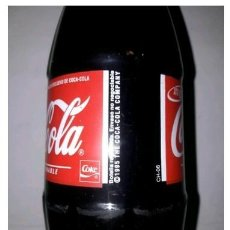 Coleccionismo de Coca-Cola y Pepsi: BOTELLA DE CRISTAL DE 1 LITRO. AÑO 1995. LLENA. PERFECTA. PIEZA DE COLECCIÓN. Lote 207970582