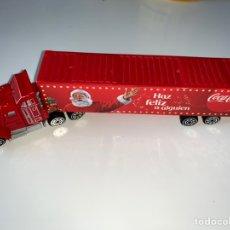 Coleccionismo de Coca-Cola y Pepsi: CAMIÓN COCA COLA HAZ FELIZ A ALGUIEN. Lote 208286700
