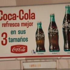 Coleccionismo de Coca-Cola y Pepsi: MAGNÍFICO BOTELLERO DE COCA-COLA AÑOS 70 /80 DE COLMADO O SUPERMERCADO , LEER DESCRIPCIÓN. Lote 208723376