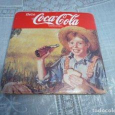 Coleccionismo de Coca-Cola y Pepsi: COCA-COLA PUBLICIDAD - POSA VASO.. Lote 208830201