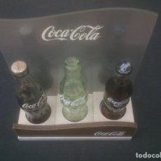 Coleccionismo de Coca-Cola y Pepsi: EXPOSITOR DE MADERA COCA COLA.. Lote 209759372