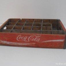 Coleccionismo de Coca-Cola y Pepsi: ANTIGUA CAJA DE MADERA COCACOLA, BOTELLINES COCA-COLA VINTAGE. Lote 210684554