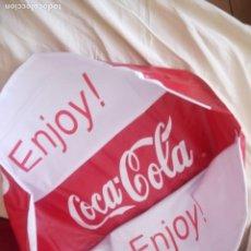 Coleccionismo de Coca-Cola y Pepsi: PELOTA COCA COLA ENJOY, INCHABLE PARA PLAYA,GRAN TAMAÑO,NUEVA SIN ESTRENAR.. Lote 210948325