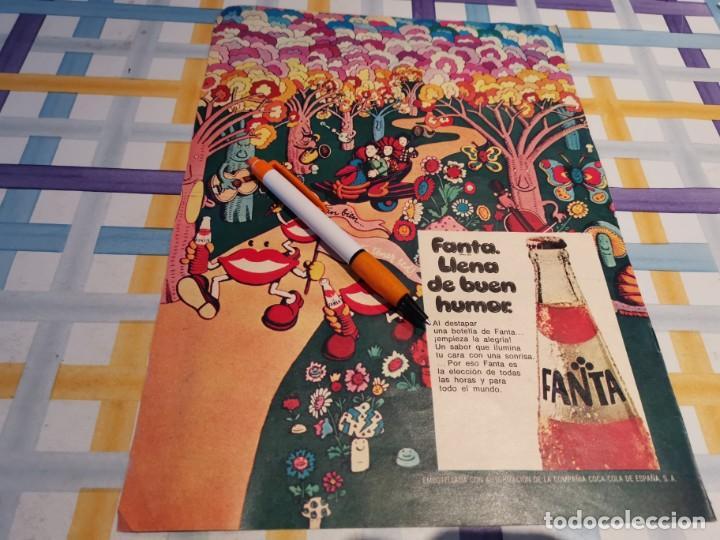 FANTA NARANJA ANUNCIO PUBLICIDAD REVISTA 1976 (Coleccionismo - Botellas y Bebidas - Coca-Cola y Pepsi)