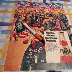 Coleccionismo de Coca-Cola y Pepsi: FANTA NARANJA ANUNCIO PUBLICIDAD REVISTA 1976. Lote 210966834