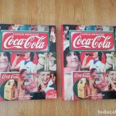 Coleccionismo de Coca-Cola y Pepsi: CARPETAS CON 50 FASCICULO, HISTORIA DE LOS CARTELES PUBLICITARIOS DE COCA COLA, PUBLICIDAD EN VESPA,. Lote 211555055