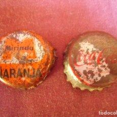 Collectionnisme de Coca-Cola et Pepsi: TAPONES CORONA CHAPA MIRINDA Y COCA-COLA.AÑOS 60-70.. Lote 211817047