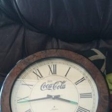 Coleccionismo de Coca-Cola y Pepsi: ANTIGUO RELOJ PUBLICITARIO DE COCA-COLA. Lote 212780041