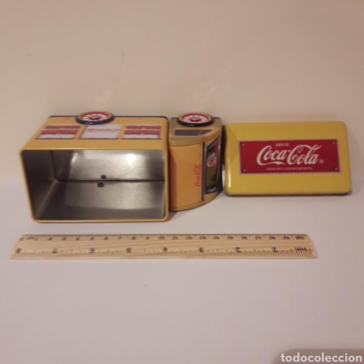 Coleccionismo de Coca-Cola y Pepsi: Camión caja Coca Cola. Hojalata - Foto 5 - 213019275