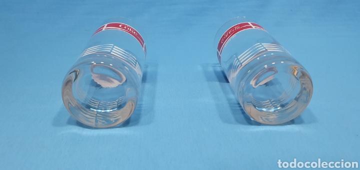 Coleccionismo de Coca-Cola y Pepsi: ANTIGUOS VASOS DE CRISTAL DE COCA-COLA - Foto 3 - 213220286