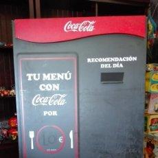 Coleccionismo de Coca-Cola y Pepsi: PIZARRA DE COCA-COLA A DOS CARAS. Lote 214707923