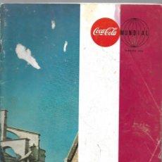 Coleccionismo de Coca-Cola y Pepsi: REVISTA COCA-COLA MUNDIAL, VOLUMEN 22 NUM. 1. AÑO 1969. KALEIDOSCOPIO 1968. VER SUMARIO.. Lote 214742612
