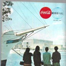 Coleccionismo de Coca-Cola y Pepsi: REVISTA COCA-COLA MUNDIAL, VOLUMEN 21 NUM. 5, AÑO 1968. VER SUMARIO.. Lote 214743651