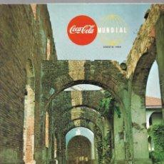 Coleccionismo de Coca-Cola y Pepsi: REVISTA COCA-COLA VOLUMEN 21 NÚM. 4. AÑO 1968. VER SUMARIO.. Lote 214743961