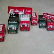 Coleccionismo de Coca-Cola y Pepsi: COLECCION CAMIONES COCA-COLA. Lote 215602775