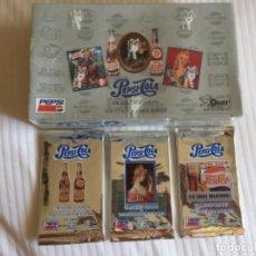 Coleccionismo de Coca-Cola y Pepsi: PEPSI COLA 1994 CAJA CON 36 SOBRES SIN ABRIR 8 CARDS POR SOBRE. Lote 215638478