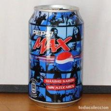 Coleccionismo de Coca-Cola y Pepsi: LATA PEPSI MAX FOTO. 33CL. CAN BOTE COLA CARA. Lote 216744688