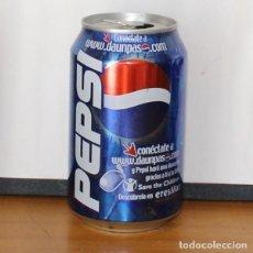 Coleccionismo de Coca-Cola y Pepsi: LATA PEPSI PROMO ONG SAVE THE CHILDREN. 33CL. CAN BOTE COLA. Lote 216744830