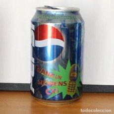 Coleccionismo de Coca-Cola y Pepsi: LATA PEPSI PROMO SIEMENS C45. 33CL. CAN BOTE COLA VERD. Lote 216744877