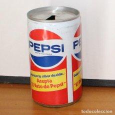 Coleccionismo de Coca-Cola y Pepsi: LATA PEPSI ACEPTA EL RETO. 33CL. CAN BOTE COLA. Lote 216744951
