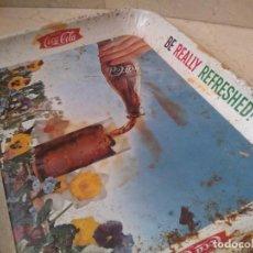Coleccionismo de Coca-Cola y Pepsi: ANTIGUA BANDEJA AUTENTICA AÑO 1961 COCA COLA. Lote 217153883