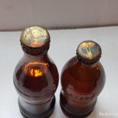 Coleccionismo de Coca-Cola y Pepsi: CHAPAS LIMONET Y T.SANGUINA CON BOTELLAS SIN ABRIR. Lote 217584170