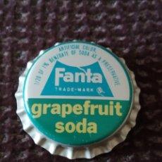 Coleccionismo de Coca-Cola y Pepsi: CHAPA FANTA MUY ANTIGUA INTERIOR CORCHO. Lote 218376945