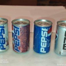 Coleccionismo de Coca-Cola y Pepsi: MINIS LATAS DE PEPSK. Lote 218425633