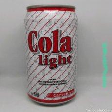 Coleccionismo de Coca-Cola y Pepsi: LATA COLA LIGHT CARREFOUR 1993. Lote 218818152