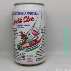 Coleccionismo de Coca-Cola y Pepsi: LATA CASERA COLA SIN CAFEÍNA - YACHT STAR 1993. Lote 218819082