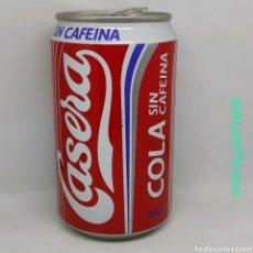 Coleccionismo de Coca-Cola y Pepsi: LATA CASERA COLA SIN CAFEÍNA 1994. Lote 218821800
