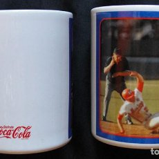 Coleccionismo de Coca-Cola y Pepsi: SET 2 TAZAS COCA COLA BURGER KING - POZZANI - MADE IN BRASIL - ENTREGA EN MANO -. Lote 218846663