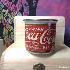 Coleccionismo de Coca-Cola y Pepsi: TAZA COCA COLA ENAMEL METAL ESTILO VINTAGE. Lote 218932045